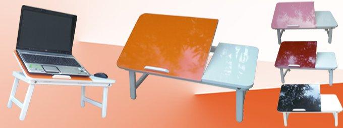 tablette pliable pour pc portable. Black Bedroom Furniture Sets. Home Design Ideas